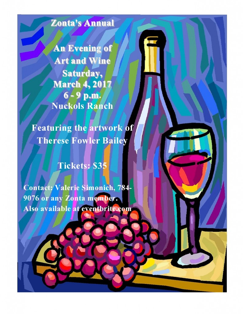 Art & Wine Event  @ Nuckols Ranch | Porterville | California | United States